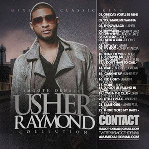 DJ Smooth Denali Usher Raymond Collection Mix CD
