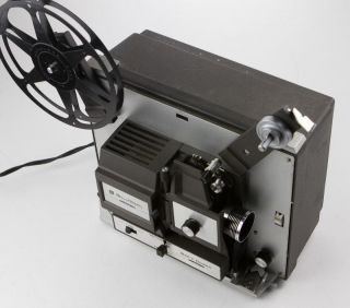 Tested Working Bell Howell 456A Autoload 8mm Super 8 Movie Projector