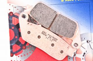 02 06 Triumph Tiger 955i EBC Double H Sintered Metal Front Brake Pads