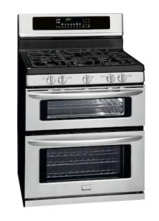 Stainless Steel Double Oven Natural Gas Range FGGF304DLF