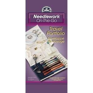 DMC Needlework on the Go Travel Portfolio Embroidery Floss Notion
