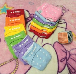 20 Pcs New Waterproof Baby Diapering re useable Cloth Diapers Cover