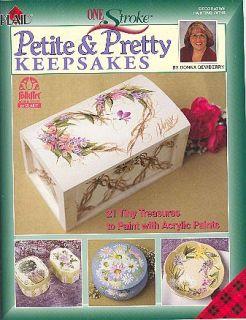 One Stroke Petite Pretty Keepsakes by Donna Dewberry