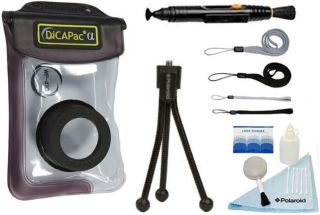 DiCAPac WP 410 Underwater Camera Case Waterproof Housing Pouch