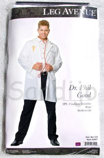 Adult Mens 2 Piece Doctor Costume One Size Fits Most