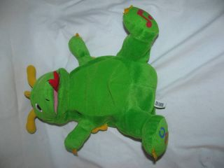 11 Baby Einstein Puppet Green Dragon Musical Plush Soft Toy Stuffed
