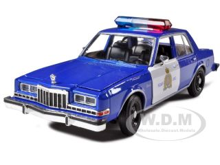 1986 Dodge Diplomat Royal Canadian Police Car 1 24