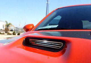 Dodge Challenger Hood Scoop Grilles Polished Billet Style Acc HHV850X