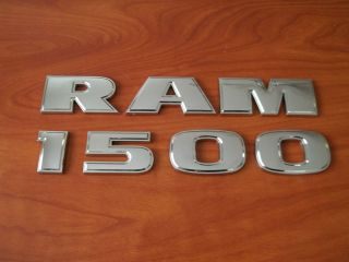 Dodge RAM 1500 Emblem Truck Door Badge Logo