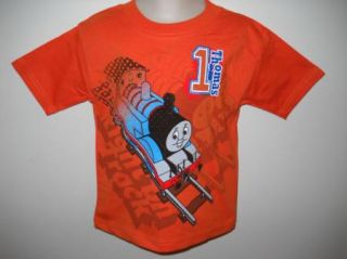 Thomas The Train Friends Shirt Tee ORANGE 2T 3T 4T