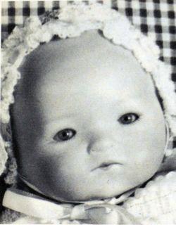 My Dream Baby Porcelain Doll Head Mold Seeley S232