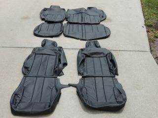 Dodge Nitro Leather Seat Covers Interior Seats 2010 2011