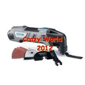 Factory Dremel 120 Volt Multi Max Oscillating Kit