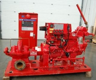 2007 PATTERSON GORMAN DIESEL POWERED FIRE PUMP Only 114 hours