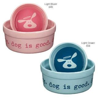 Life Dog Is Good Bolo Dog Dishes Ceramic Food Water Dog Bowls