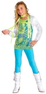 Hannah Montana Miley Cyrus Pop Star Halloween Child Costume 6989