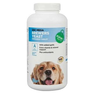 GNC Pets Mega Brewers Yeast for All Dogs Beef Flavor