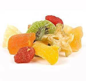 Tropical Fruit Salad Dried Fruit Mix 1 Pound