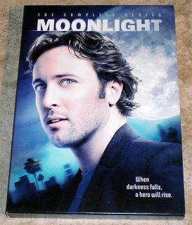 DVD Moonlight The Complete TV Series 4 Disc Set Vampire Alex O