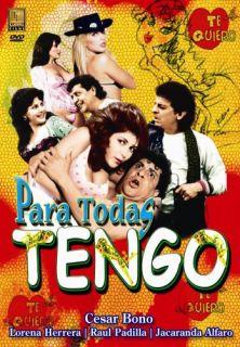 Para Todas Tengo DVD Cesar Bono Lorena Herrera