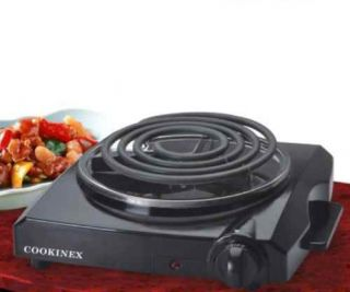 New Portable 1000 Watt Single Electric Dorm Stove Fifth Burner Slim