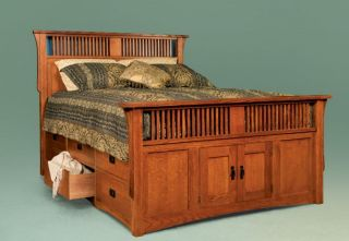 158936590_ size storage bed under bed drawers platform - King Size Bed Frame With Drawers