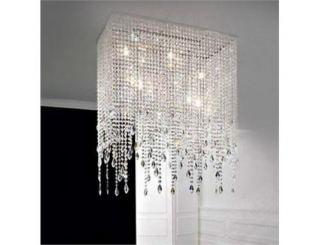 40cm Modern Drop Crystal Ceiling Light Lighting Pendant Lamp Fixture