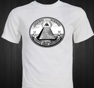 Dollar Bill Pyramid Eye of Providence Masonic Illuminati Conspiracy