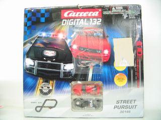 Carrera Street Pursuit Digital 132 Slot Car Racing Set Race 20030146
