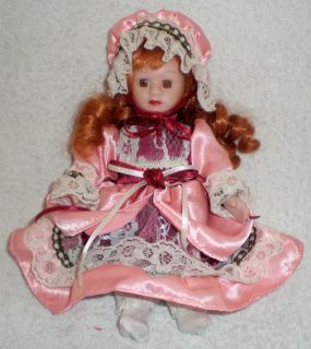 Vintage RARE Antique Baby Doll Girl Hair Beautiful Madame Porcelain