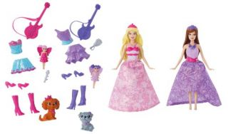 Barbie The Princess and The Popstar Mini Doll Giftset