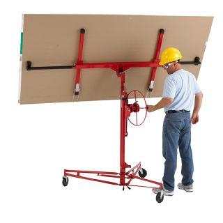 Pro Series Heavy Duty Drywall Lift and Panel Hoist 11 Foot DIY Tools