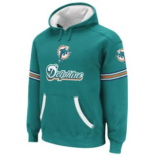 MIAMI DOLPHINS Rbk QB Jersey Pullover Hoody M