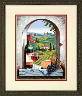 Dimensions Paint by Number Kit 11 x 14 Tuscan View 91441 Sale