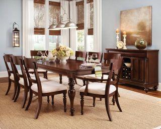 Wynwood Harrison Cherry Wood Dining Room Furniure able 6 Chairs