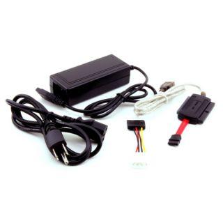 USB 2 0 to IDE SATA Serial ATA Hard Drive Adapter Cable