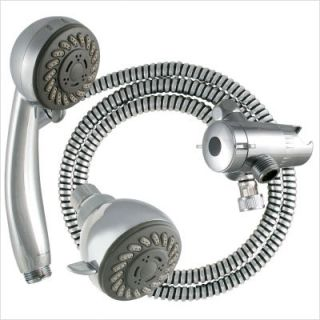 LDR 3 Function Dual Head Shower Kit Chrome 520 3020CP