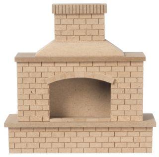 Dollhouse Miniature Furniture Houseworks Outdoor Living Brick