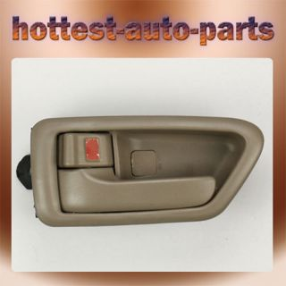 Toyota Camry Inside Interior Door Handle Driver Side Left Tan