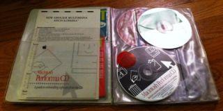 1994 Apple Computer Macintosh Performa Software CD Bundle
