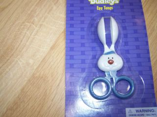 Dudleys Blue Easter Bunny Egg Tongs Dipping Eggs Dye N