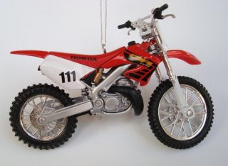 250R Dirt Bike Motorcycle Ornament Diecast 250 R Trail Riding