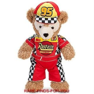 Duffy the Disney Bear 17 Plush Cars Lightning McQueen Costume Outfit
