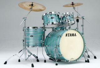 Tama drums sets Starclassic B B LACQUERED AZURE OYSTER Birch Bubinga