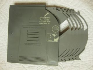 Land Rover Range Rover 6 Disc CD Changer Magazine Cartridge