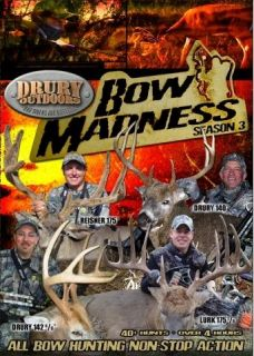TV Season 3 Deer Wild Hogs Turkey Hunting DVD Drury Outdoors