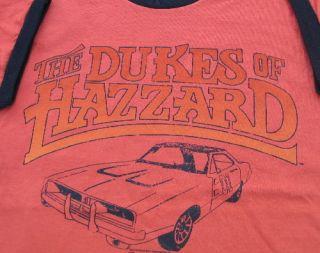 The Dukes of Hazzard TV Show General Lee Logo Shirt L