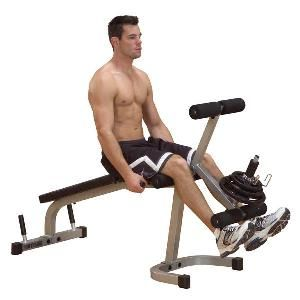 Powerline Leg Extension Leg Curl Machine PLCE165X New