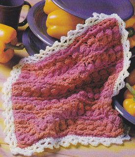 CROCHET DISHCLOTH EASY PATTERN - CROCHET STITCH
