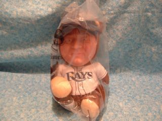 DON ZIMMER ZIM BEAR TAMPA BAY RAYS STADIUM GIVEAWAY ON 9 3 2012 New in